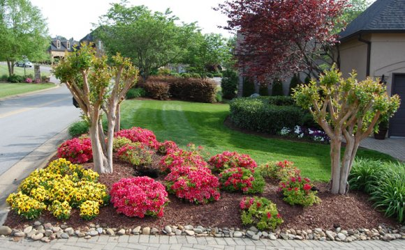 1+ images about Flower bed