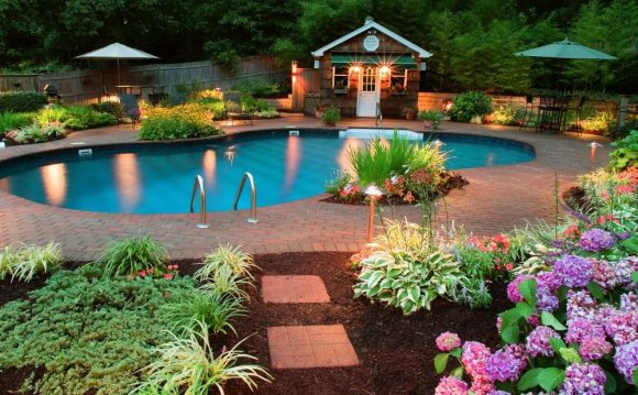 Beautiful Backyard Pools How
