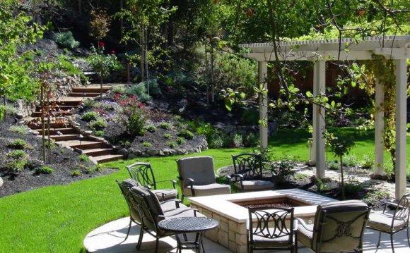 Beautiful Landscaped Backyard