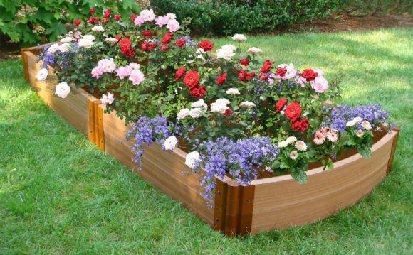 Easy Flower Garden Designs