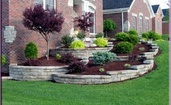 Front yard Design ideas Pictures | Residential landscaping