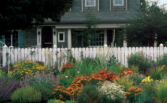 Front Yard Gardening design