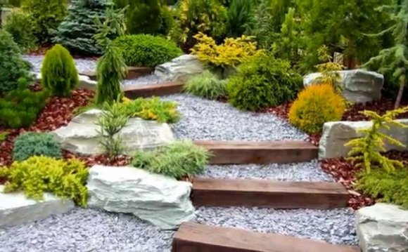 Garden bed design and garden