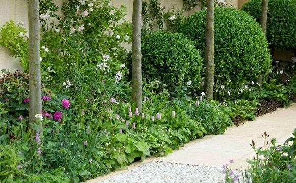 Garden design - using paths