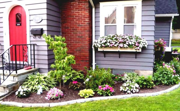 Flower Garden Ideas In Front