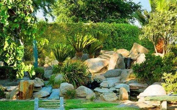 Images of landscaped gardens