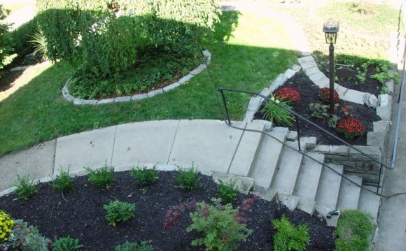 Landscaping ideas for sloping