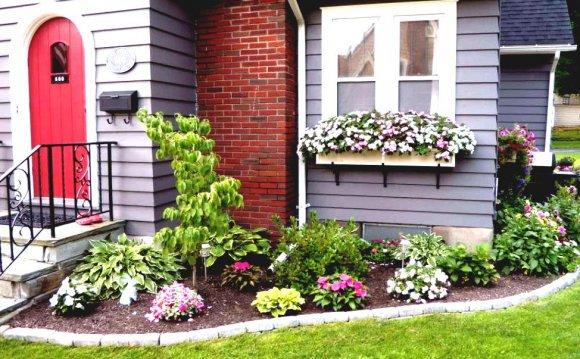 Pleasant Flower Beds Design