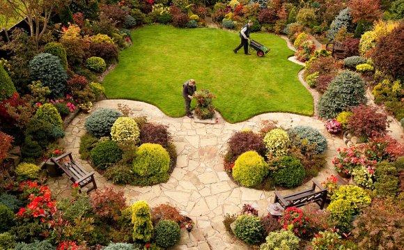 Popular: The garden, which