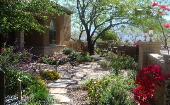 Garden Walkway Southwestern