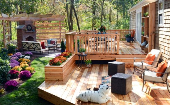 HGTV Backyard