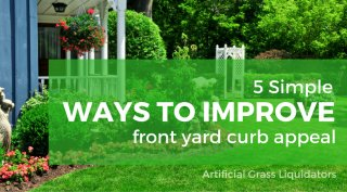5 Simple Ways to Improve Front Yard Curb Appeal