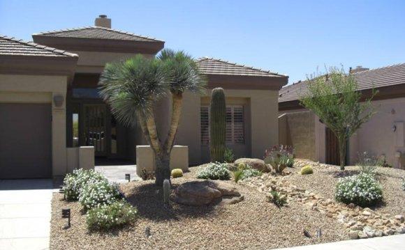 Desert Front Yard Landscaping Residential Landscaping