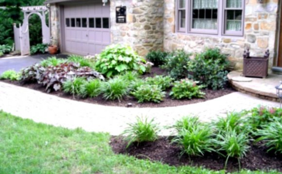 Landscaping flower Beds