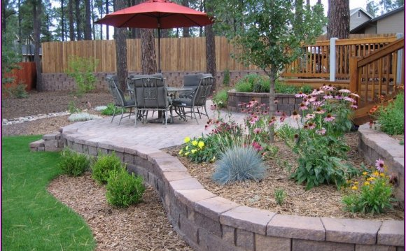 Backyard Landscaping ideas Pictures