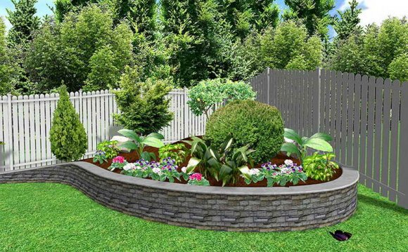 Landscape flower Beds