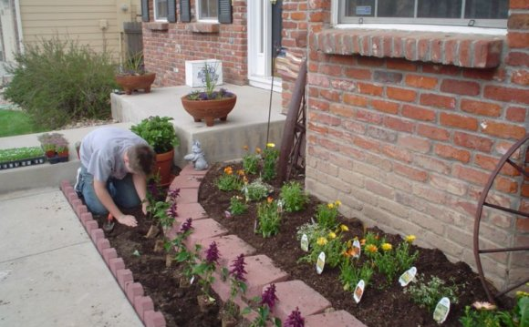 Front Yard Flower Bed Ideas Residential Landscaping
