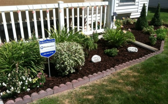 Flower Bed Design For Front Of House Residential Landscaping