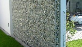 gabion wall design ideas garden design garden privacy fence