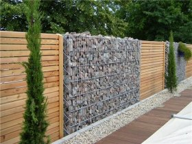 gabion wall design ideas garden fence privacy fence