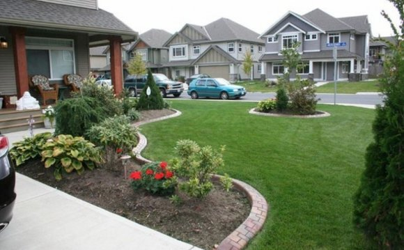Garden Bed Ideas For Front Of House Residential Landscaping