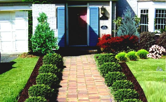 Simple front Yards