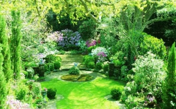 Images of gardens, Landscape