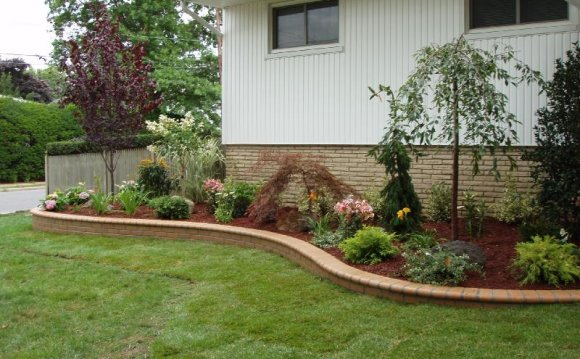 Landscaping for front of house