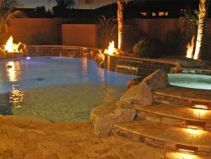 Pool Lights Alexon Design Group Gilbert, AZ