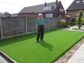 Artificial Grass lawn