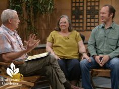 Tom Spencer,  Laurin Lindsey and Shawn Schlacter Central Texas Gardener